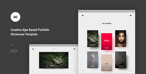 Wizzard – Creative Ajax Portfolio Showcase Template Free Download