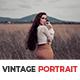 10 Vintage Portrait Lightroom Presets - GraphicRiver Item for Sale