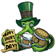 Octopus Celebrating Saint Patricks Day - GraphicRiver Item for Sale
