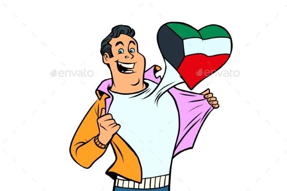 Kuwait Patriot Isolated on White Background