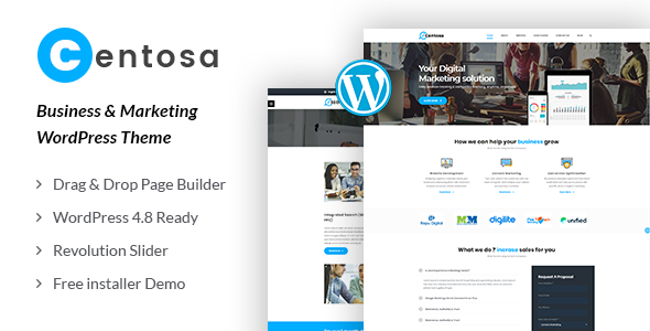 Centosa - Business & Marketing WordPress Theme