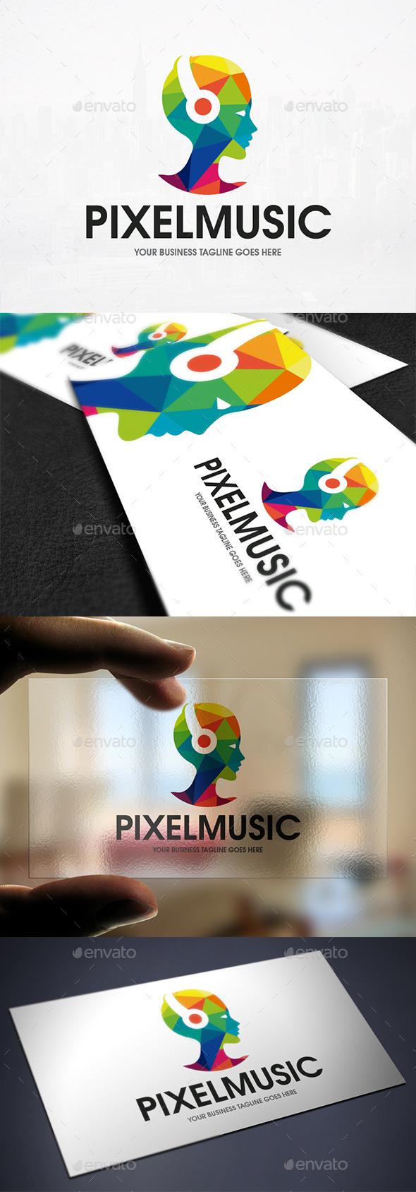 Future Music Logo Template