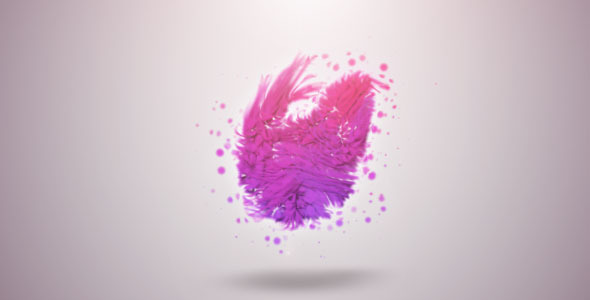 Organic Particles Logo Reveal