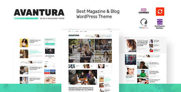 Avantura - Magazine & Blog WordPress Theme
