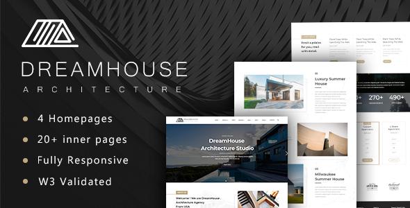Dreamhouse - Architecture & Interior Design Template