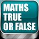 Math Game: True Or False
