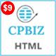 CPBIZ - Multipurpose HTML5 Template - ThemeForest Item for Sale