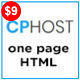 CPHost - One Page Hosting HTML5 Template - ThemeForest Item for Sale