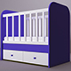 Baby Bed - 3DOcean Item for Sale