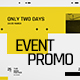 Event Promo Typography - VideoHive Item for Sale