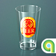 Beer Glass Mock-up - American Pint - GraphicRiver Item for Sale