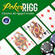 Poker Rigg C4D - 3DOcean Item for Sale