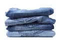 Blue jeans on a white background - PhotoDune Item for Sale
