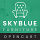 Skyblue Furniture OpenCart 3.x Responsive Theme - ThemeForest Item for Sale