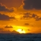 Dramatic Sunrise Over Ocean Waves - VideoHive Item for Sale