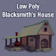 Low Poly Blacksmith's House - 3DOcean Item for Sale