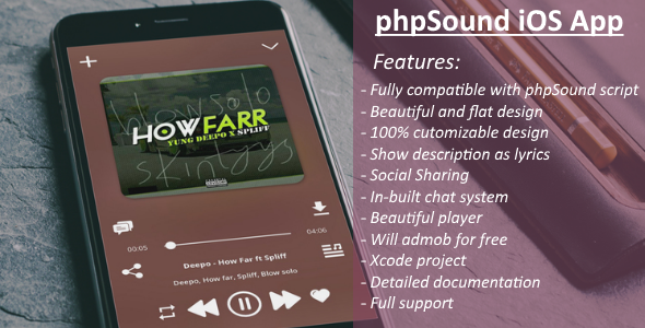 phpSound iOS App Download