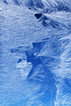 Frost pattern on a window glass - PhotoDune Item for Sale