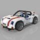 lego sport car - 3DOcean Item for Sale
