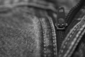 Close up of the blue jeans zipper - PhotoDune Item for Sale