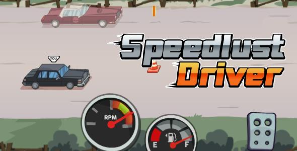 Speedlust Driver - HTML5 Game (CAPX) Download