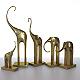 Figurines five elephants - 3DOcean Item for Sale