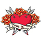 Heart Pierced By Two Arrows - GraphicRiver Item for Sale