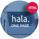 Hala - Multi-purpose Responsive One Page Template - ThemeForest Item for Sale