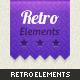 Retro Web Elements - GraphicRiver Item for Sale