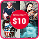 Librofagho Actions Bundle 4 in 1 - GraphicRiver Item for Sale