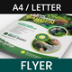 Garden Landscaping and Lawn Design Flyer - GraphicRiver Item for Sale