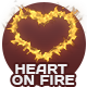Heart On Fire - 3 Pack - GraphicRiver Item for Sale