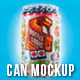 Beer / Soda Can Mockup - GraphicRiver Item for Sale