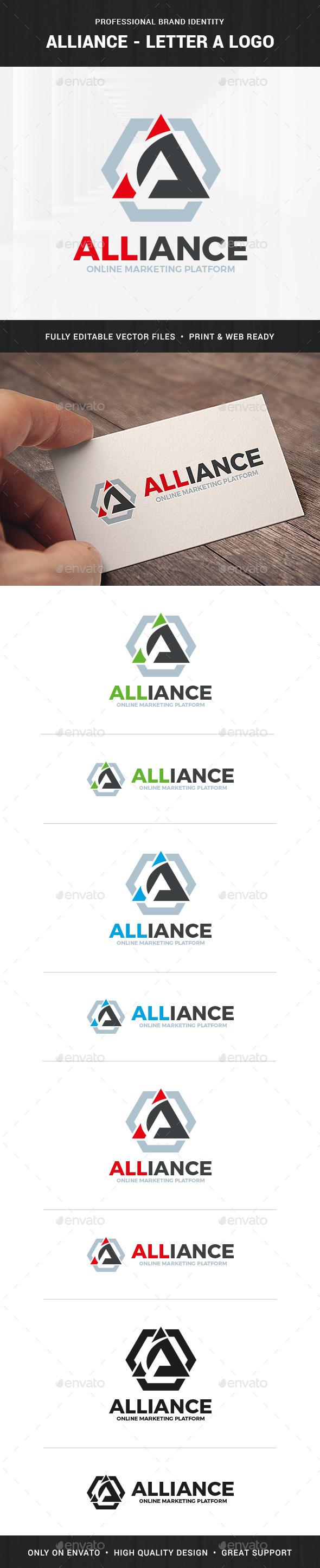 Alliance - Letter A Logo