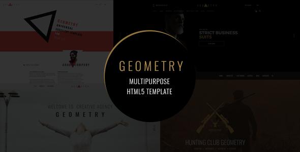 Geometry — Multipurpose HTML5 Template