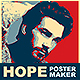Hope Poster Maker PS Action - GraphicRiver Item for Sale