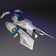 Spacecraft LowPoly Set of 3 momels - 3DOcean Item for Sale