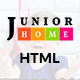 JuniorHome - Education HTML Template - ThemeForest Item for Sale