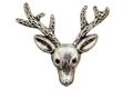 Filigree in the form of a deer's head, decorative element for ma - PhotoDune Item for Sale