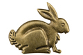 Filigree in the form of a profile of a hare, decorative element - PhotoDune Item for Sale