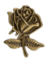 Filigree iin the form of a rose flower, decorative element for m - PhotoDune Item for Sale