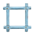 Old empty blue picture frame - PhotoDune Item for Sale