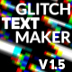 Glitch Text Maker - VideoHive Item for Sale