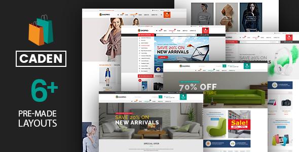 Caden - Mega Store Responsive WordPress Theme