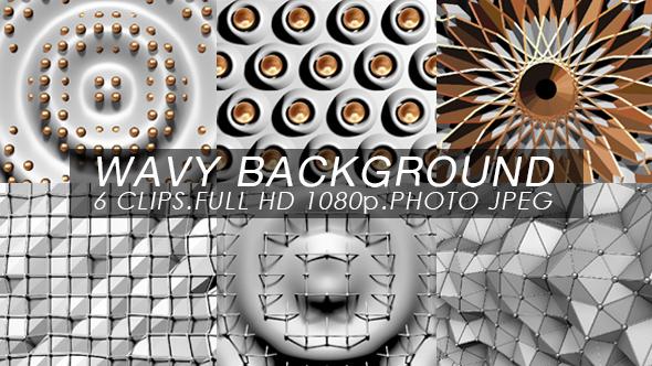 Wavy Background Vj Pack