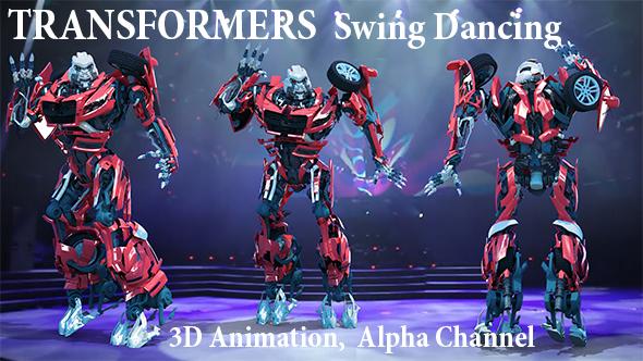 Transformers Swing Dancing