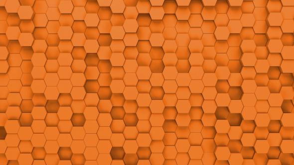 Hexagons Background Loop