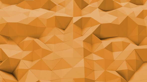 3D Triangles Background Loop