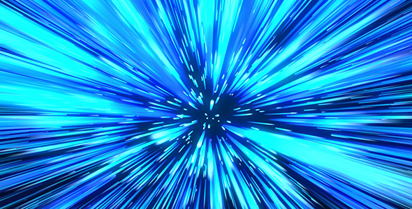 Blue Particles Background 4
