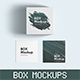 Packaging Box Mockups - GraphicRiver Item for Sale